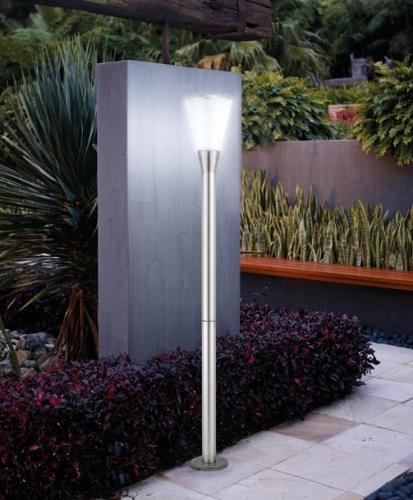 Lampadaire solaire c ne samos eclairage solaire puissant objetsolaire for Eclairage jardin autonome