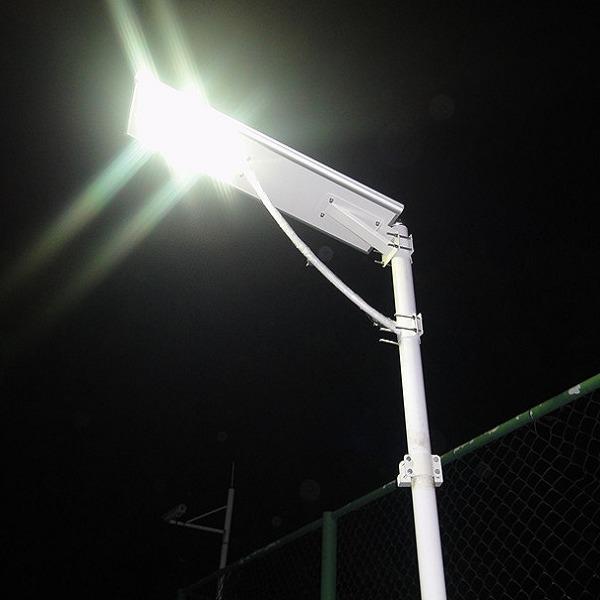 lampadaire solaire puissant 60w led zs a701eh eclairage. Black Bedroom Furniture Sets. Home Design Ideas