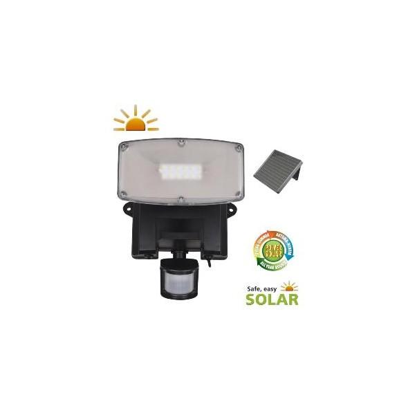 projecteur solaire puissant 480 lumens torres eclairage solaire puissant objetsolaire. Black Bedroom Furniture Sets. Home Design Ideas