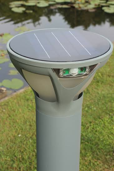Borne solaire for Borne eclairage exterieur solaire