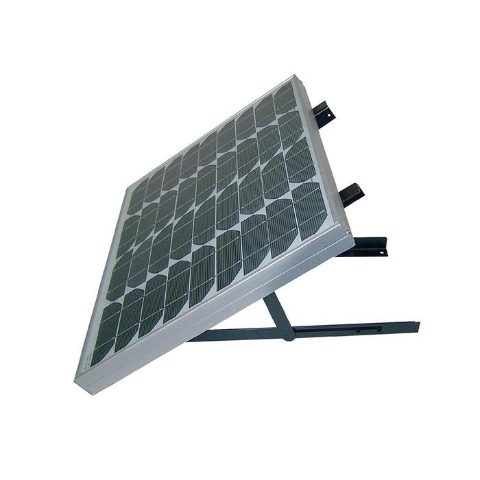 support de fixation mural r glable pour panneau solaire. Black Bedroom Furniture Sets. Home Design Ideas