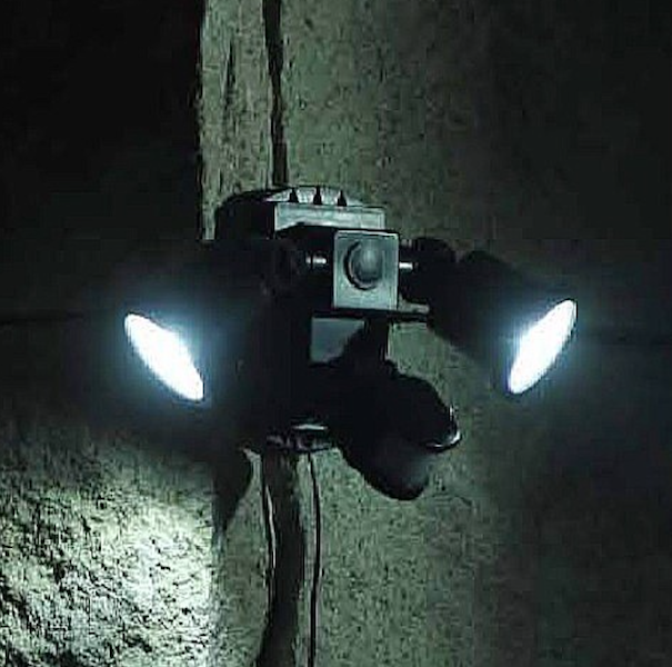 Spot solaire puissant double 600 lumens d tecteur de - Prise detecteur de mouvement ...