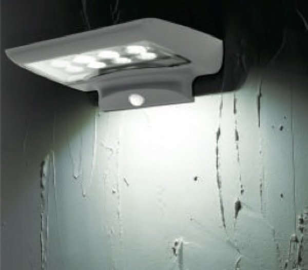 applique solaire puissante d tecteur de mouvement bt 400 lumens applique solaire objetsolaire. Black Bedroom Furniture Sets. Home Design Ideas